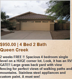 Queen Creek Property